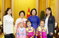 Phó Chủ tịch nước tiếp Đoàn đại biểu Hội hữu nghị Triều Tiên-Việt Nam