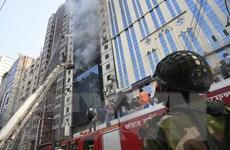 Bangladesh: Chủ tòa nhà từng được yêu cầu cải thiện an toàn cháy nổ