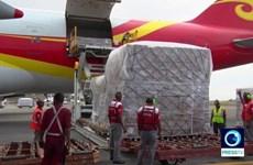 Venezuela tiếp nhận lô hàng viện trợ y tế đầu tiên từ Trung Quốc