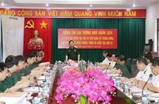 Đại tướng Ngô Xuân Lịch làm việc tại Vùng 4 Hải quân