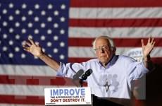 Ông Bernie Sanders vượt trội về huy động quỹ tranh cử tổng thống Mỹ