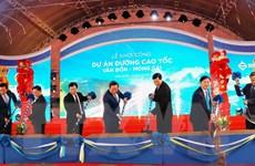 Chính thức khởi công tuyến đường cao tốc Vân Đồn-Móng Cái