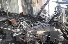 Cháy nhà ba tầng ở trung tâm Đà Lạt, nhiều tài sản bị thiêu rụi