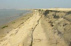 Xuất hiện đảo cát mới nổi rộng hơn 15ha trên vùng biển Hội An