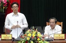 Phó Thủ tướng Vũ Đức Đam thăm và làm việc tại Quảng Bình