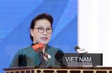 Chủ tịch Quốc hội phát biểu tại phiên toàn thể Đại hội đồng IPU-140