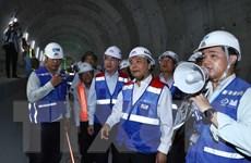 Hình ảnh Thủ tướng thị sát công trường tuyến Metro số 1