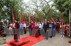 [Photo] Chủ tịch Quốc hội dâng hương tưởng niệm các vua Hùng