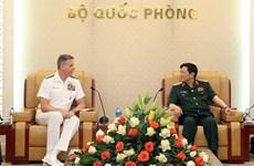 Thúc đẩy hợp tác quốc phòng giữa Việt Nam và Hoa Kỳ