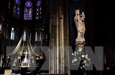 Dữ liệu mô hình 3D Nhà thờ Đức Bà Paris đang được lưu giữ tại Mỹ
