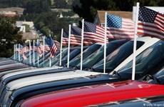 Thâm hụt thương mại của Mỹ giảm xuống thấp nhất trong 8 tháng