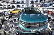 Doanh số bán xe ôtô ở châu Âu giảm tháng thứ 7 liên tiếp