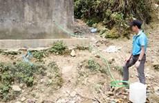 Thời tiết khô nóng, ít mưa, Sa Pa thiếu nước sinh hoạt trầm trọng