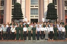 Ðoàn Cựu chiến binh và thân nhân liệt sỹ Trung Quốc thăm Việt Nam