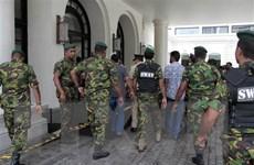 Bắt giữ tám người liên quan đến loạt vụ đánh bom tại Sri Lanka