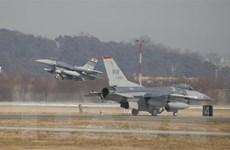 Hàn Quốc và Mỹ khởi động tập trận không quân chung