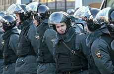 An ninh Nga bắt giữ chín nghi can khủng bố ở vùng Viễn Đông