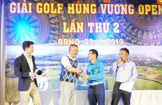Giải Golf Hùng Vương gắn kết cộng đồng người Việt ở nước ngoài