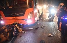 Xe khách đi vào đường cấm, gây tai nạn làm 2 người thương vong