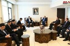 Thứ trưởng Triều Tiên thăm Syria, thúc đẩy hợp tác song phương