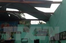 Gia Lai: Gần 50 căn nhà sập sàn, tốc mái do lốc xoáy