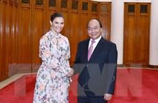 Thủ tướng Chính phủ Nguyễn Xuân Phúc tiếp Công chúa kế vị Thụy Điển