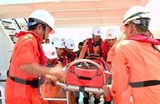 Cấp cứu kịp thời ngư dân bị đứt lìa chân khi hành nghề trên biển