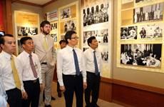 Trưng bày tư liệu quý về Chủ tịch Hồ Chí Minh tại Khu Phủ Chủ tịch