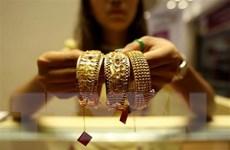 Giá vàng thế giới tụt xuống mức thấp nhất của hơn hai tuần