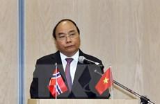 Thủ tướng Nguyễn Xuân Phúc dự Diễn đàn doanh nghiệp Việt Nam-Na Uy