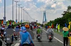 Cầu Vàm Cống - vận hội mới cho vùng đất ''Chín rồng''