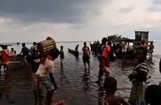 Chìm tàu tại Cộng hòa dân chủ Congo, hơn 100 người mất tích