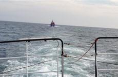 Cứu nạn thành công tàu cá cùng 17 thuyền viên gặp nạn trên biển