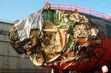 Tàu ngầm hạt nhân của Mỹ bẹp dúm đầu vì lao vào núi dưới đáy biển