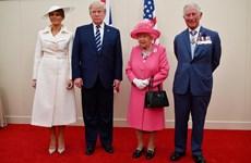 Tổng thống Mỹ Trump kết thúc chuyến thăm Vương quốc Anh