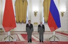 Lãnh đạo Nga-Trung Quốc ra tuyên bố chung sau cuộc gặp thượng đỉnh