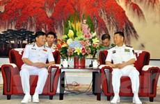 Đoàn cán bộ cấp cao Hải quân Nhân dân Việt Nam thăm Trung Quốc