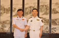 Tăng cường hợp tác giữa hải quân hai nước Việt Nam-Trung Quốc