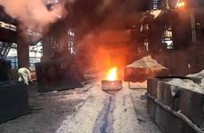 Hải Dương: Sụt lò luyện gang, năm công nhân bị bỏng
