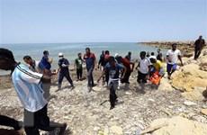 Hải quân Libya cứu gần 200 người di cư ở ngoài khơi bờ biển phía Tây