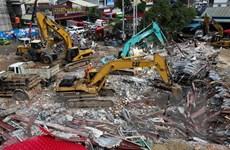Tòa nhà 7 tầng bị sập tại Campuchia xây dựng trái phép