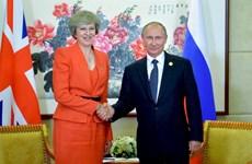 Tổng thống Nga và Thủ tướng Anh gặp nhau bên lề Hội nghị G20