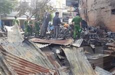 Lâm Đồng: Hỏa hoạn thiêu rụi quán cơm do bình gas bị xì