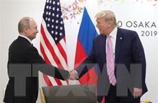 Tổng thống Vladimir Putin mời Tổng thống Mỹ Donald Trump đến thăm Nga