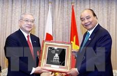 Thủ tướng tiếp lãnh đạo các Hội Hữu nghị Nhật-Việt tại Kansai và Sacai