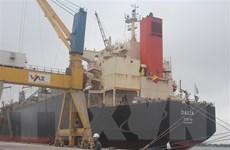Hàng hóa qua cảng biển trong sáu tháng đầu năm tăng 13%