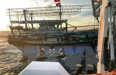 Huy động tàu giã cào của ngư dân tìm kiếm thuyền viên tàu cá mất tích