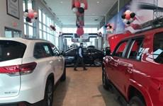 Doanh số bán xe của ba hãng ôtô lớn tại Mỹ giảm mạnh trong nửa đầu năm