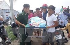 Vụ chìm tàu cá trên vùng biển Hòn Cau: Tìm thấy thi thể 4 thuyền viên
