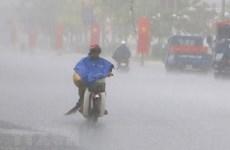 Bão số 2 đã đổ bộ vào các tỉnh từ Hải Phòng đến Nam Định